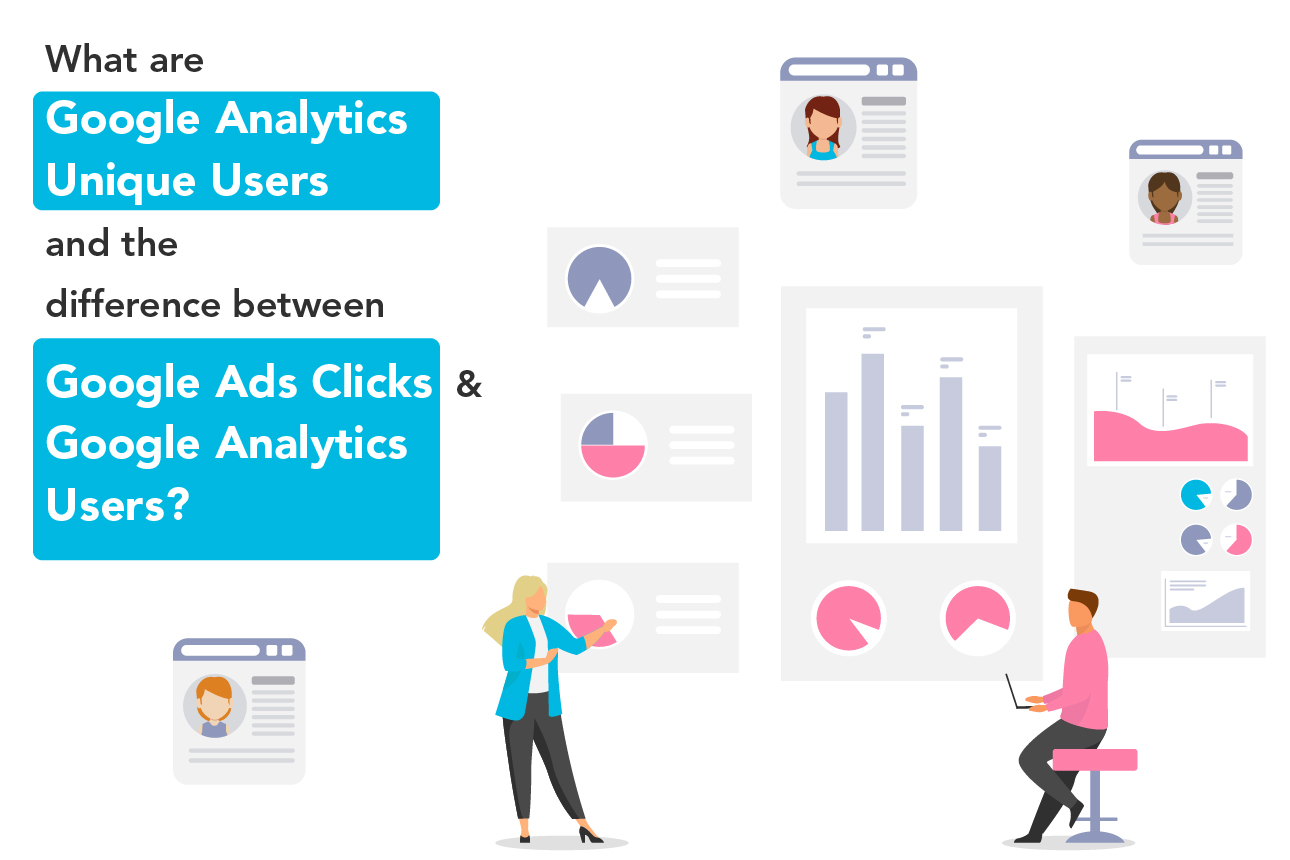 Difference between Google Analytics user and Google Ads clicks